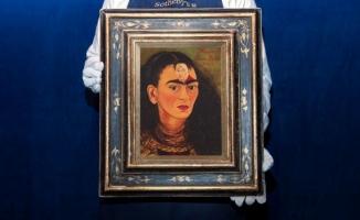 Frida Kahlo'nun otoportresinin 30 milyon dolara satılması bekleniyor!