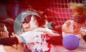 Kadın golbol takımımız ve Sevda Altunoluk tarih yazdı! ABD'yi sahadan silip altın madalya kazandık
