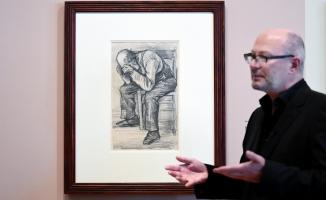 Van Gogh'un yeni keşfedilen çizimi ilk kez Amsterdam'da sergilendi!