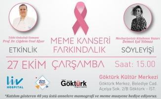Göktürk Dergisi, Biltes Koleji ve Liv Hospital Vadistanbul ile birlikte meme kanseri için farkındalık etkinliği