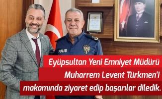 Ümit Öner'den İlçe Emniyet Müdürü'ne ziyaret