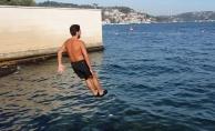 İstanbul'da Bugün Denize Girdiler!