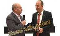 Kanal 34 TV Başarı Ödülü Kazandı