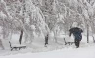 3 kentte hayat durdu.. Yoğun tipi ve kar yüzünden araçlar ilerleyemedi...