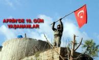 Afrin'de 10. Gün! Bölgede Türk Bayrağı Dalgalandı!