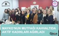 Mayko'nun Mutfağı Kahvaltıda Aktif Kadınları Ağırladı