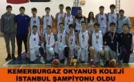 Okyanus Koleji İstanbul Şampiyonu Oldu