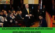 Yeni Galatasaray Başkanı Açıklama Yaptı