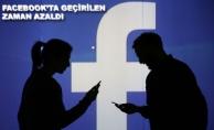 Facebook'ta Geçirilen Zaman Azaldı