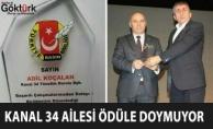 Kanal 34 TV Bir Ödül Daha Kazandı