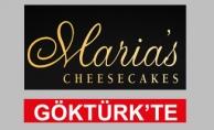 Maria's Cheesecake Göktürk'te Sizleri Bekliyor