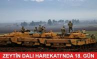 Zeytin Dalı Operasyonu'nda 18.Gün