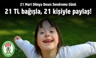 21 TL Bağışla 21 Kişiyle Paylaş