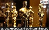 90. Oscar Ödülleri Sahiplerini Buldu! İşte Kazananlar