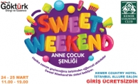 Kemer Country Club'da Sweet Weekend Etkinliği