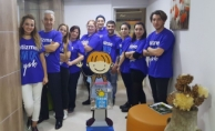 Abacıoğlu Kliniği'nin Düzenlediği Otizm Kampanyası