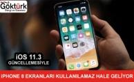 Ekranı Değiştirilen iPhone 8 Modelleri iOS 11.3 Sonrası Kullanılamaz Hale Geliyor