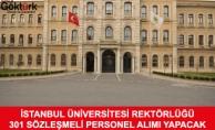 İstanbul Üniversite Rektörlüğü 301 Sözleşmeli Personel Alacak
