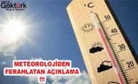 Meteorolojiden 'Ferahlatan' Açıklama