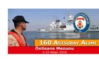 Sahil Güvenlik Komutanlığı 160 Sözleşmeli Astsubay Alımı Yapacak