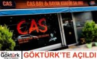 CAS Bay & Bayan Kuaför Salonu Göktürk'te Açıldı!