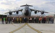A400m Atlas uçağının 6'ncısı Kayseri'de