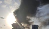 İstanbul Davutpaşa'da yangın! Dumanlar her yerden görünüyor!