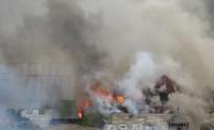 Son dakika… Beykoz'da büyük yangın: Film platosu küle döndü