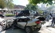 Başakşehir'de zincirleme kaza... İki kişi hayatını kaybetti!