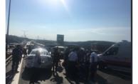 TEM Otoyolu - Hasdal Yönünde Kaza: 3 Şerif Trafiğe Kapatıldı!