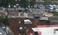 Ümraniye'de istinat duvarı çöktü! Olay yerine itfaiye ve polis ekipleri sevk edildi