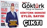 Göktürk Dergisi Eylül Sayısı Çıktı!