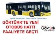 Göktürk'te Yeni Otobüs Hattı Faaliyete Geçti!
