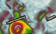 Son dakika... Tropikal fırtına ne zaman Türkiye'ye gelecek, nereleri etkileyecek?