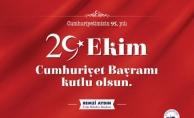 Remzi Aydın'dan 29 Ekim Cumhuriyet Bayramı Mesajı