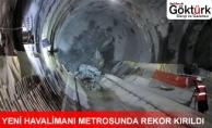 Yeni Havalimanı Metrosunda Rekor Kırıldı!