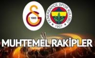 Avrupa Liginde Fenerbahçe ile Galatasaray'ın Muhtemel Rakipleri Belli Oldu