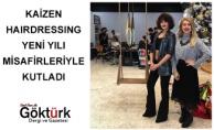 Kaizen Hairdressing Yeni Yılı Misafirleriyle Kutladı