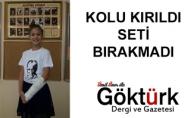 KOLU KIRILDI SETİ BIRAKMADI