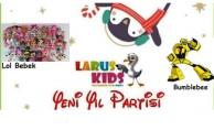 Larus Kids'te Yeni Yıl Partisi