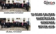 10 Ocak Çalışan Gazeteciler Günü'nde Büyük Ayıp!