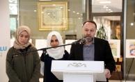 """Eyüpsultan Karikatür Okulu """"Kudüs ve Çizgiler"""" sergisi açıldı"""