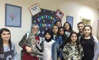 SİMURG öğrencilerinden hayvan sevgisi adına örnek davranış