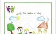 """GÖKTÜRK ANNELERİ """"AİLEDE HUZUR"""" SEMİNERİ İÇİN BULUŞTU"""