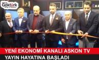Yeni Ekonomi Kanalı Askon TV Yayın Hayatına Başladı!