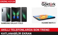 Akıllı Telefonlarda Son Trend: Katlanabilir Ekran!