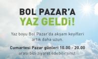 Bol Pazar'a Yaz Geldi