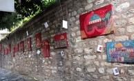 Eyüpsultan'da 'Kırmızı Kudüs' Sergisi