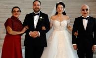Mazhar Alanson'un mutlu günü! Oğlunu evlendirdi