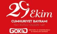 GÖKİD Başkanı Ümit Öner 29 Ekim Cumhuriyet Bayramı Mesajı Yayınladı